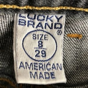 Lucky Brand Jeans - Lucky Brand dungarees jeans womens size 8